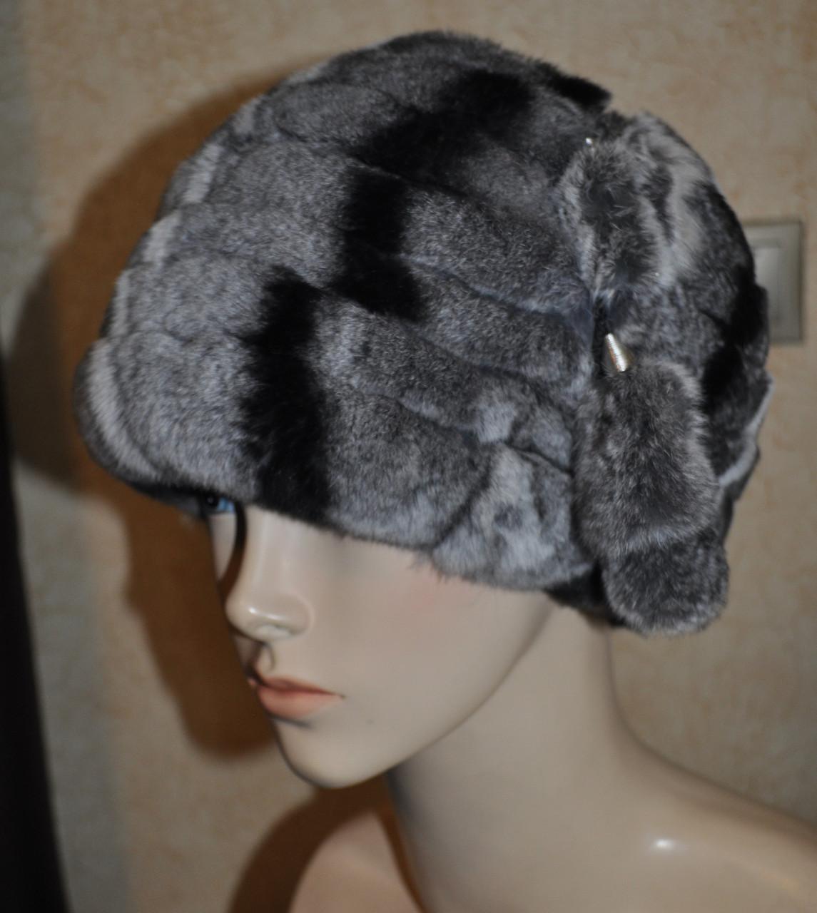 Жіноча хутрова шапка Шарпей