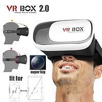Виртуальные очки с пультом 3D VR BOX 2 , фото 1