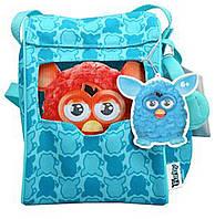 Рюкзак голубой для Furby (с наушниками), фото 1