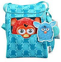 Рюкзак голубой для Furby (с наушниками)