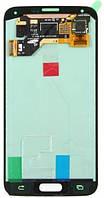 Дисплей (экран) + сенсор (тач скрин) SAMSUNG Galaxy S5 (SM-G900F) rev.0.1 silver (оригинал)