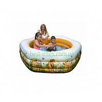 Intex 57497 (191x178x61 см.) Детский надувной бассейн