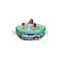 Intex 57490 (191x178x61 см.) Детский надувной бассейн История игрушек