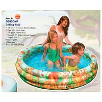 Intex 58420 (147х33 см.) Детский надувной бассейн