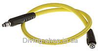 Шланг низкого давления дайвинг SubGear, 100 см, жёлтый