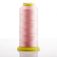 Нитка Розовый  d-0.6мм капроновая для рукоделия 500 м