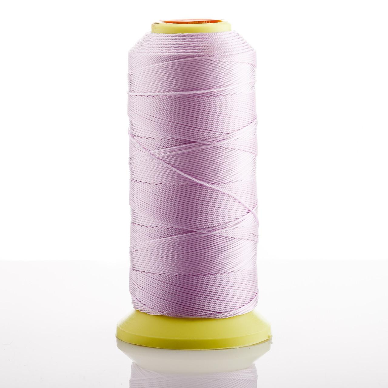 Нитка светлый Сиреневый d-0.9 мм капроновая для рукоделия 500 м - ☆SOUVENIRS☆ - интернет магазин бижутерии, фурнитуры и украшений в Одессе