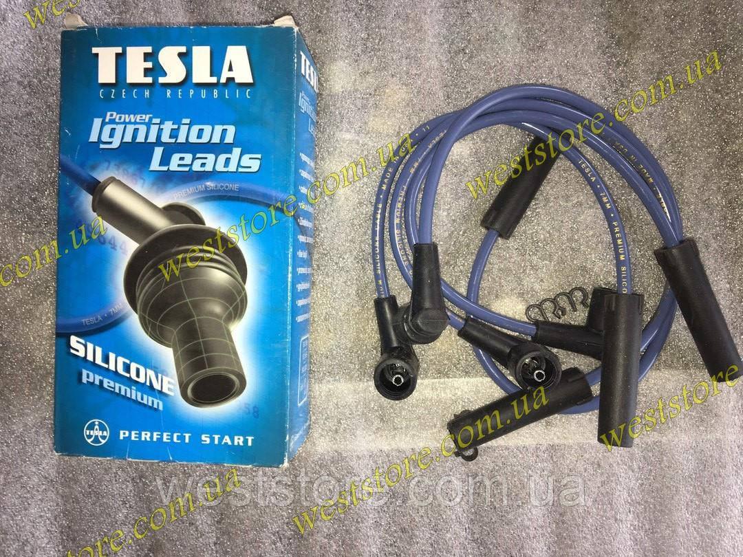 Провода свечные зажигания Ваз 2108 2109 21099 2113 2114 2115 2110 2111 инжектор 8 кл 1117 tesla синяя
