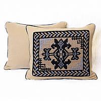 Подушка с этническими мотивами,  55х46