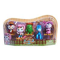 Набор шериф Кэли и его друзья Disney Sheriff Callie Toy Figure Playset (Pack of 5)