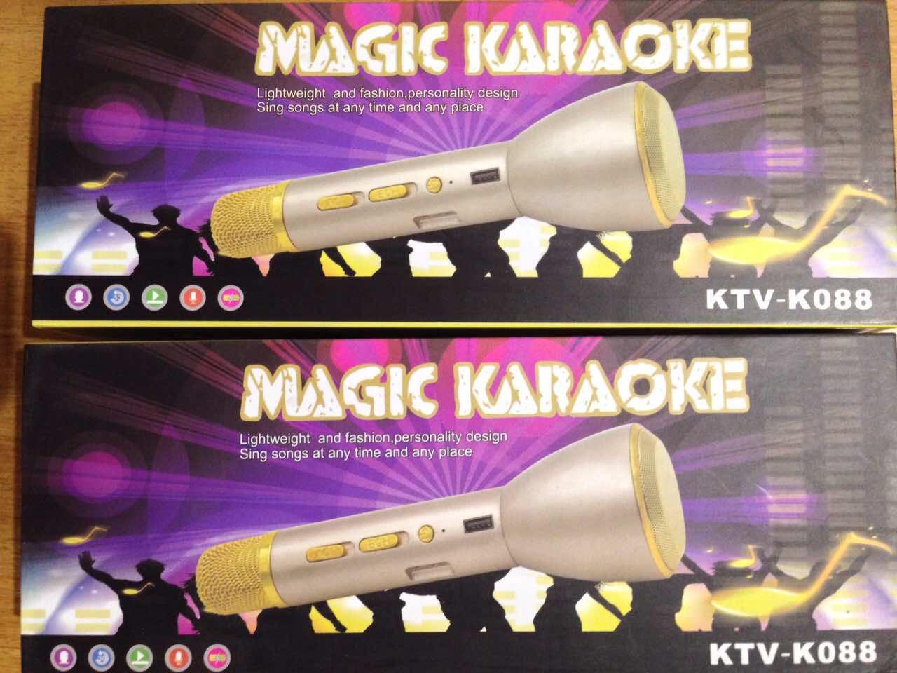 Микрофон караоке и колонка Magic Karaoke KTV-K088  Мега Новинка !!!