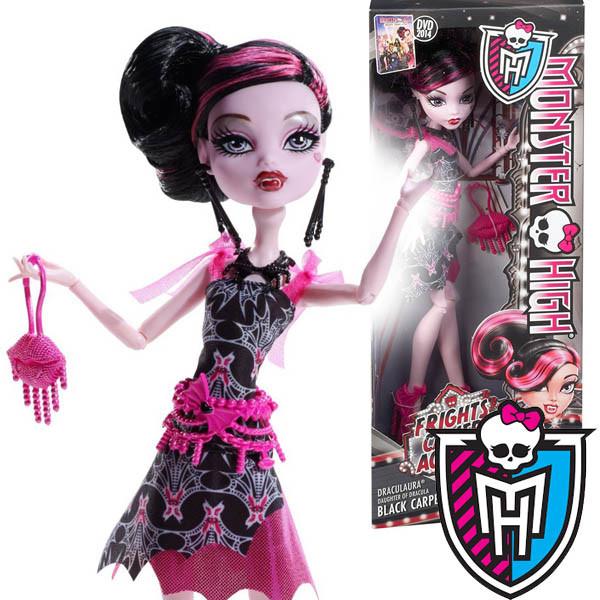 Кукла Monster High Дракулаура Страх! Камера! Мотор! Draculaura Frights! Camera! Action! Монстер Хай