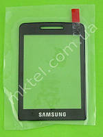 Стекло передней панели Samsung S5610 Оригинал Черный