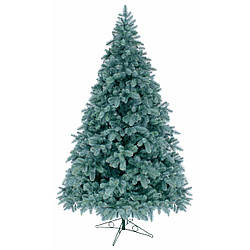 Литая искусственная елка 1,8 метра голубая ель