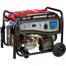 Бензиновый генератор SENCI 6000 электро стартер