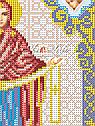 Авторская канва для вышивки бисером «Образ Богородицы Покрова», фото 2