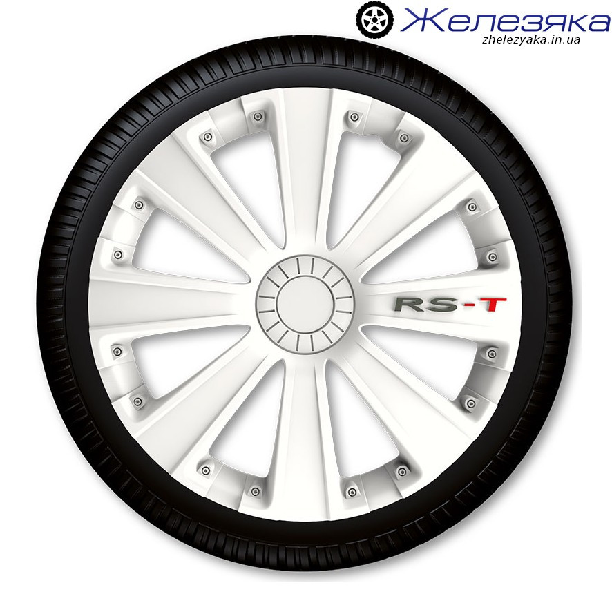 Колпаки R14 4Racing RS-T WHITE