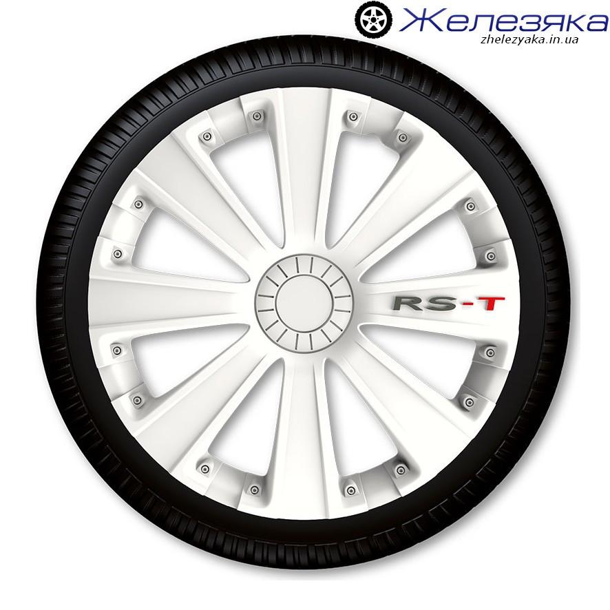 Ковпаки R14 4Racing RS-T WHITE