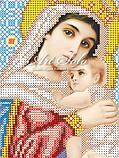 Авторская канва для вышивки бисером «Образ Пресвятой Богородицы Отчаяных Единая Надежда», фото 2