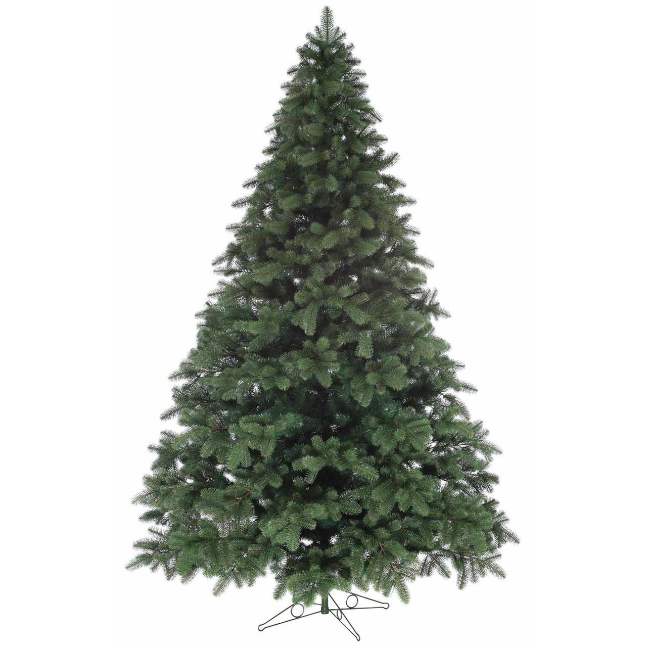 Литая искусственная елка 1,8 метра зеленая ель