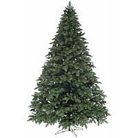 Литая искусственная елка 2,5 метра зеленая ель