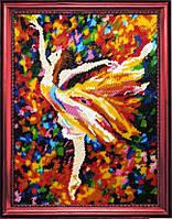Набор для вышивки бисером Балерина (по картине Л. Афремова) 429