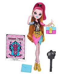 Кукла Монстер Хай Джиджи Грант Новый Скарместр Monster High Gigi Grant New Scaremester