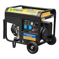 Бензогенератор Sadko GPS-8500E ATS, запчасти гарантийный ремонт, официальный представитель и сервисный центр