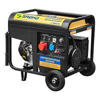 Газо-бензиновый генератор Sadko GPS-8500EF, запчасти гарантийный ремонт, официальный представитель и сервисный центр