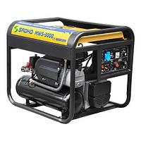 Мобильная станция Sadko MWS-3000, компрессор, сварочный  газо-бензиновый генератор, запчасти гарантийный ремонт, официальный представитель и сервисный