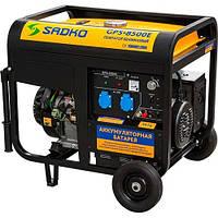Газо-бензиновый генератор GPS-8500E Sadko, запчасти гарантийный ремонт, официальный представитель и сервисный центр