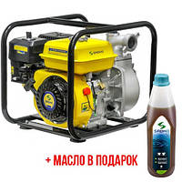 Мотопомпа бензиновая Sadko WP-5030 (30 м.куб/час, для чистой воды), запчасти гарантийный ремонт, официальный представитель и сервисный центр