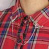 "Типсы. Уголки на рубашку ""Олени"". Цвет серебо"