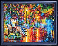 Набор для вышивки бисером Романтический вечер (по картине Л. Афремова) 464