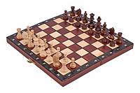 Деревянные шахматы «Дорожные» 27 см, фото 1