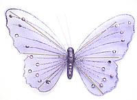 Декоративная большая бабочка для штор и тюлей