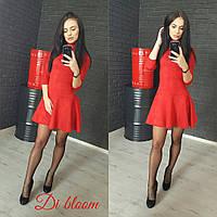 Короткое замшевое платье, фото 1