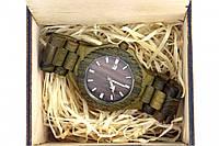 Эксклюзивные деревянные наручные часы BlackWood