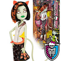 Кукла Монстр Хай Скара Скримс из серии Чумовое слияние Monster High Freaky Fusion Scarah Screams Doll
