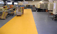 Резиновое напольное покрытие для промышленных помещений, складов и производств., фото 1