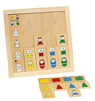 Настольная игра - Классификация - Подбери игрушку