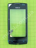Сенсорный экран Nokia Asha 500 Dual SIM с панелью Копия А Черный