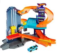 "Трек Хот Вилс Город Скорости ""Hot Wheels Workshop Track Builder Speedtropolis"""