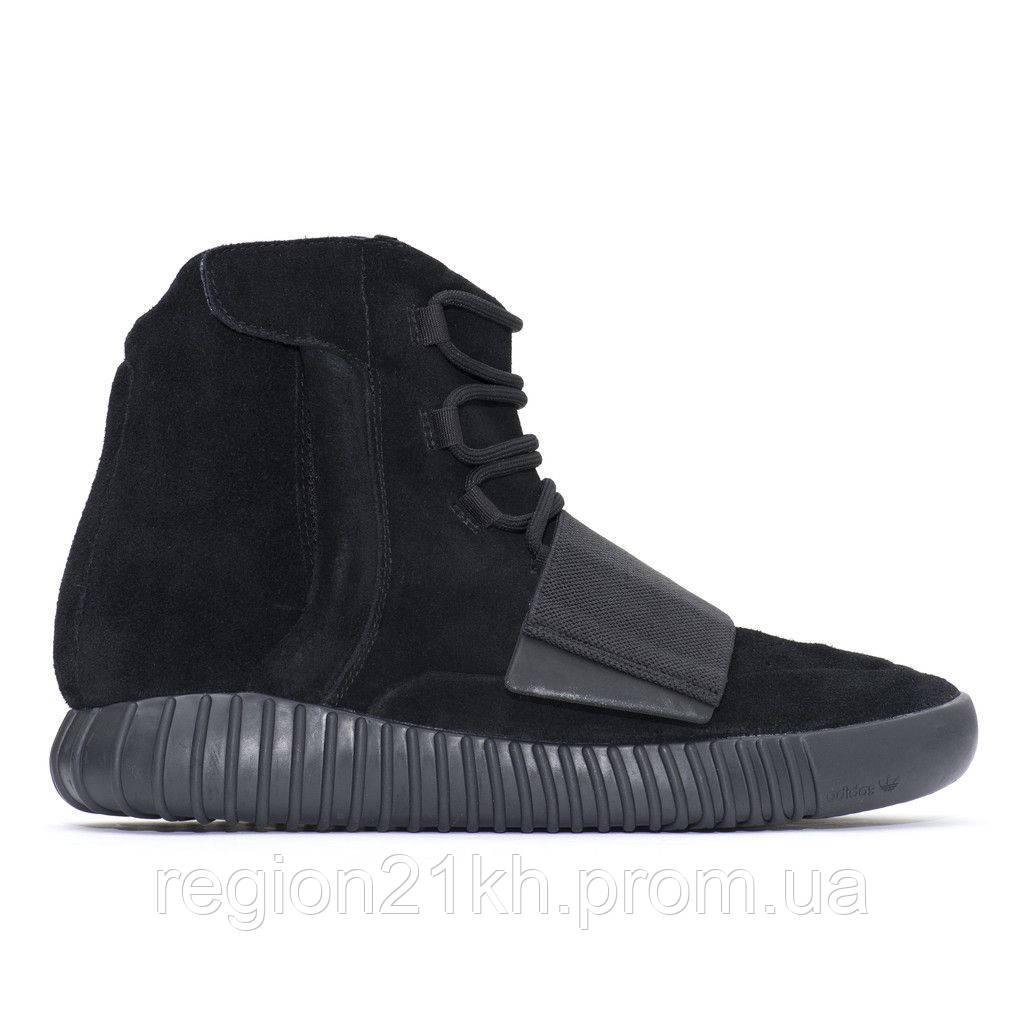 Кроссовки мужские Adidas Yeezy Boost 750 Triple Black черные купить ... 596a77d20b3