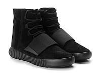 Кроссовки мужские Adidas Yeezy Boost 750 Triple Black, фото 1
