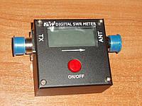 REDOT 2017A цифровой КСВ-метр измеритель мощности SWR 1,6-60 МГц UHF-KF(SO239) антенный анализатор электронный