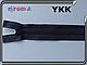 Молния трактор YKK 70см серая DA 1бегунок 155-182, фото 2