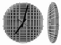 Креативные часы на стену в стиле хай тек