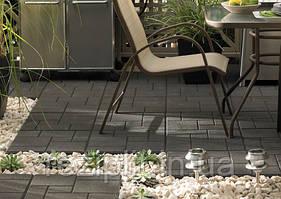 Резиновое напольное покрытие для открытой террасы