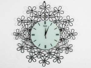 Часы на стену оригинальные с цветами